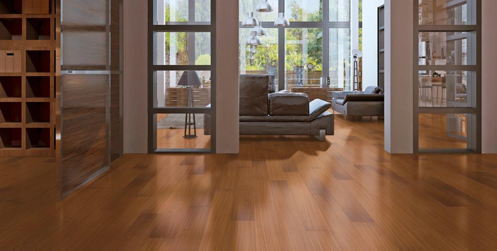 Engineered Wood Flooring Red Floor India