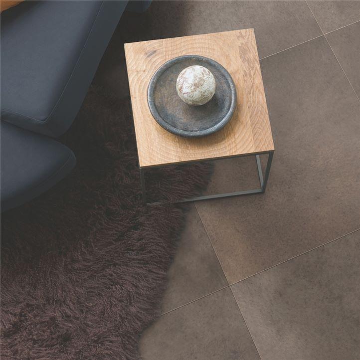 Polished concrete dark